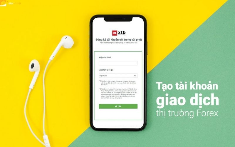 Những tài khoản giao dịch dành cho XTB Việt Nam
