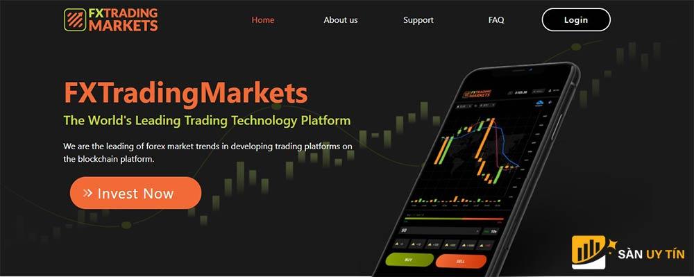 Đánh giá sàn FX Trading Markets