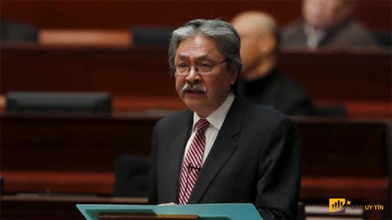 Bộ trưởng tài chính Hong Kong đã đưa ra nhận định