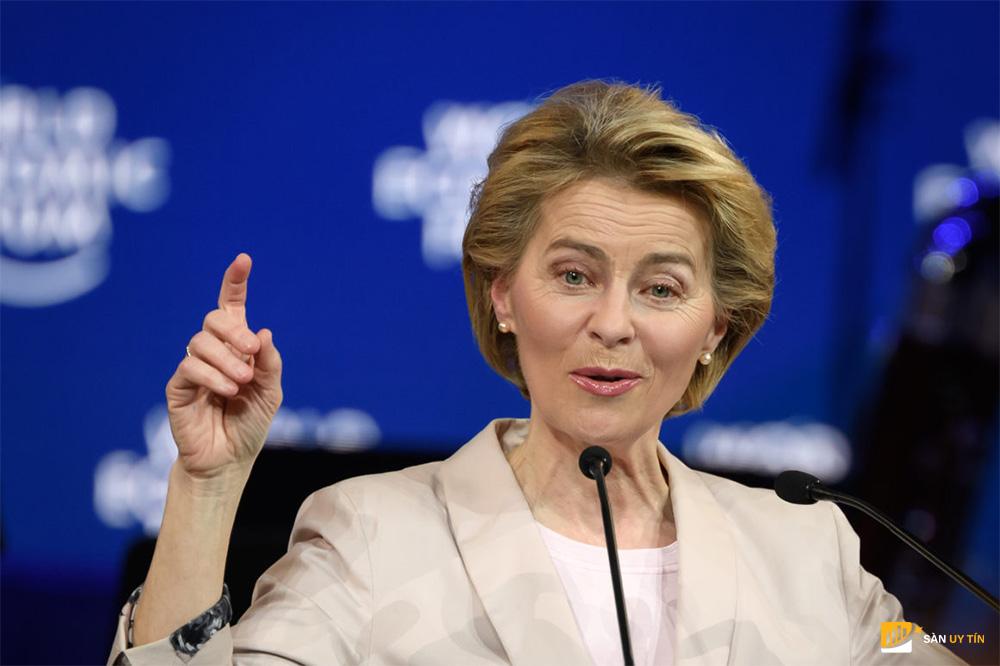 Chủ tịch Ủy ban châu Âu Ursula von der Leyen
