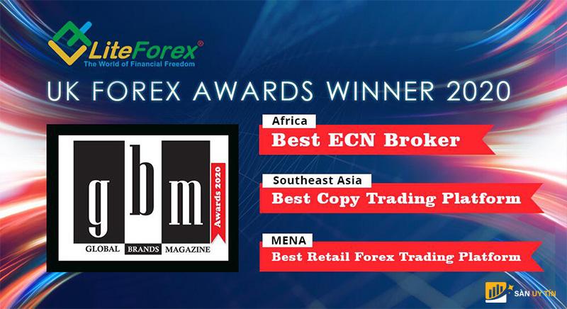 LiteFinance là broker ấn tượng với 3 giải thưởng cao nhất
