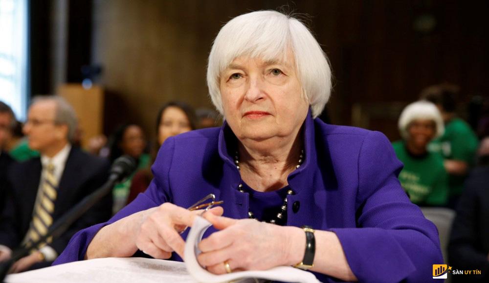 Bộ trưởng Tài chính Hoa Kỳ Janet Yellen