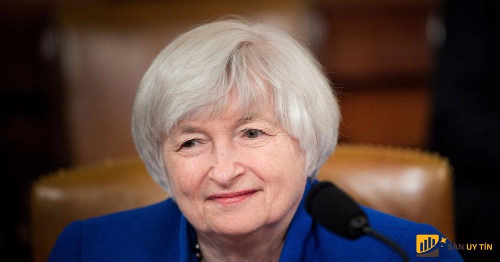 Bộ trưởng Tài chính Mỹ Janet Yellen