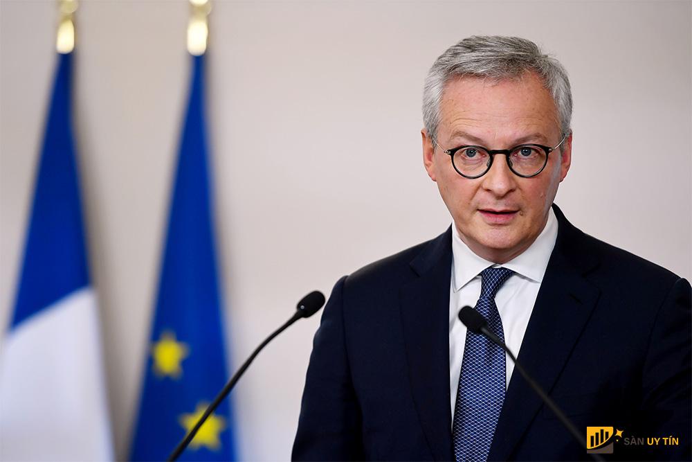 Bộ trưởng Tài chính Pháp Bruno Le Maire