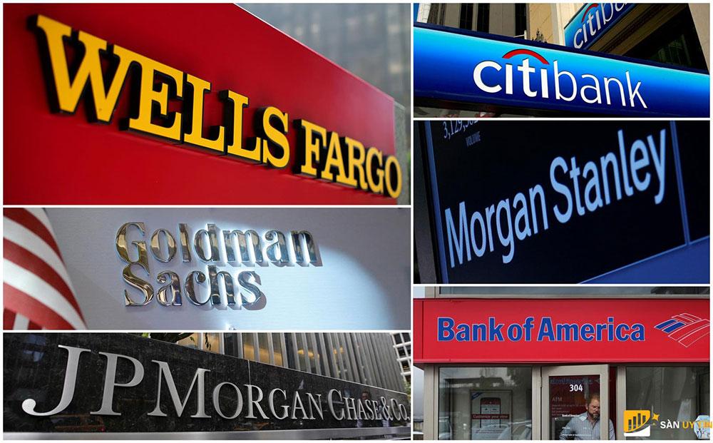các ngân hàng lớn của Mỹ phải dành hơn 65 tỷ USD cho các khoản cho vay bị thiệt hại.
