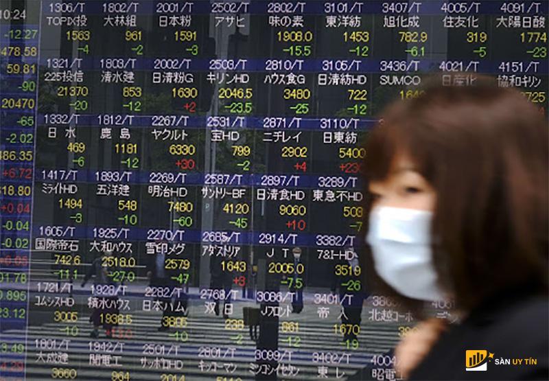 Chứng khoán Châu Á đã chuyển sang sắc đỏ do lo ngại lạm phát