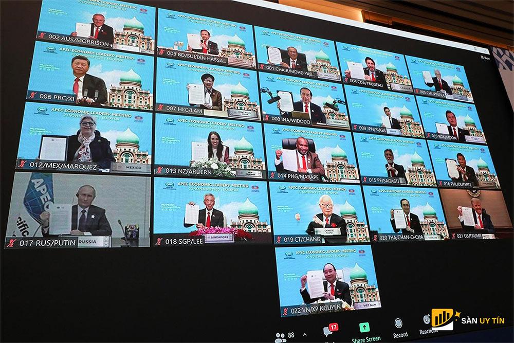 Cuộc họp trực tuyến của các nước thuộc APEC