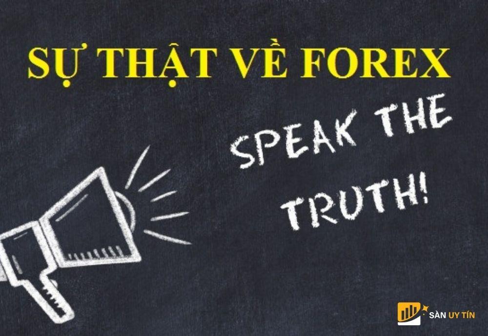 Thực hư về Forex nhà đầu tư cần biết