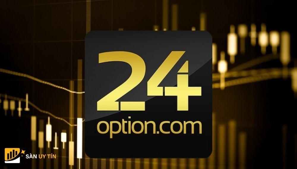 Sàn Binary Options 24Option uy tín