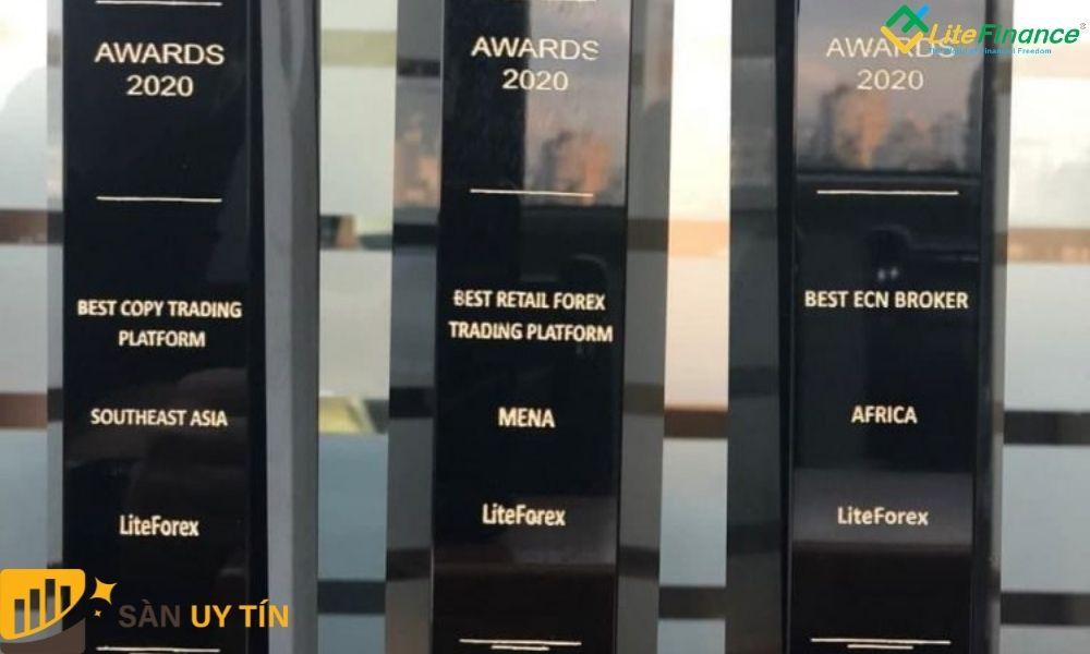 Giải thưởng mà LiteFinance nhận được