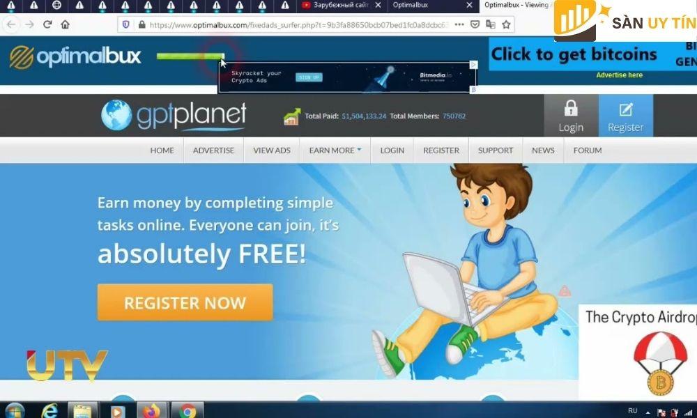 Một trang web tuyệt vời, giúp kiếm tiền ảo ngay lập tức mà không cần phải cố gắng nhiều.