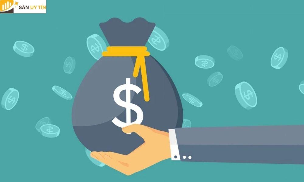 Nhà đầu tư có thể chọn số dư bằng USD và BTC hoặc ETH