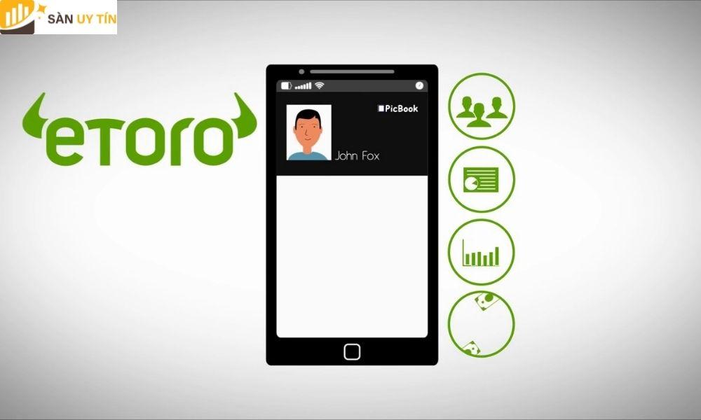 Các loại tài khoản trên sàn eToro