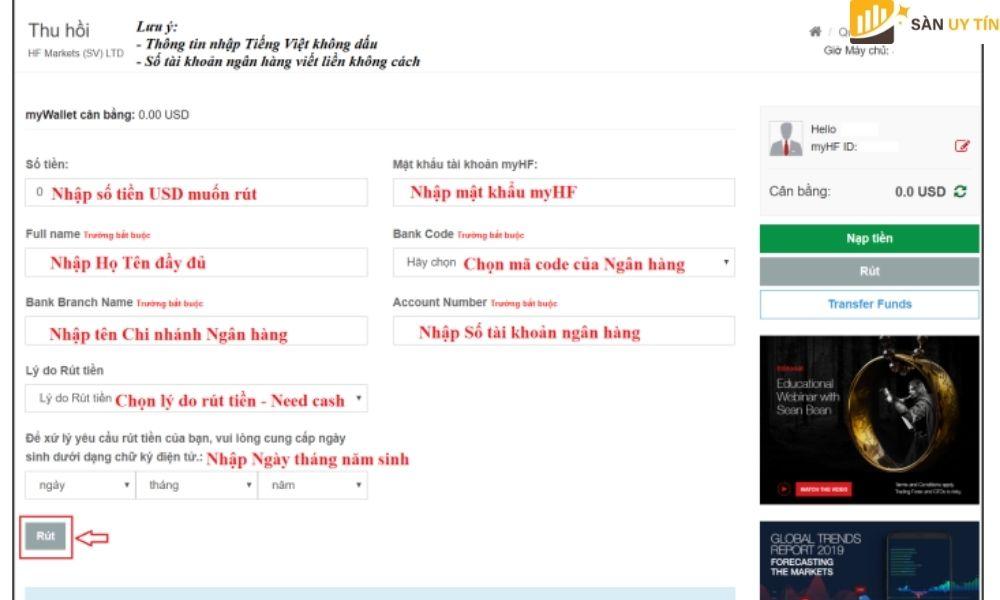 Tất cả phải được viết bằng tiếng Việt không dấu