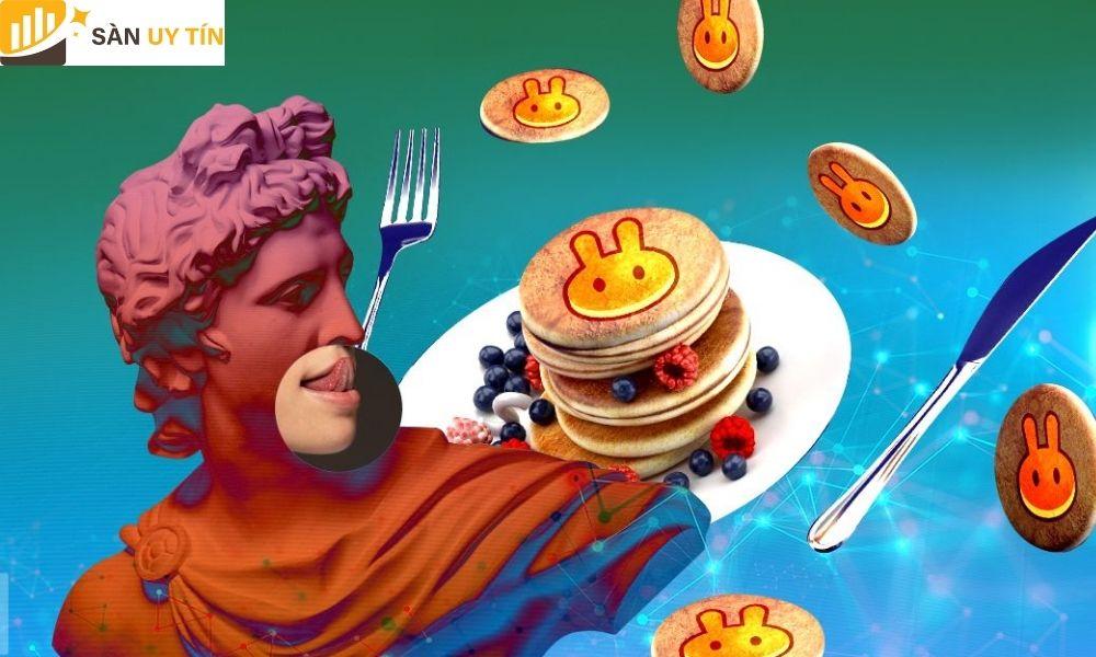 Chi phí giao dịch của sàn Pancake Swap tương đối thấp hơn