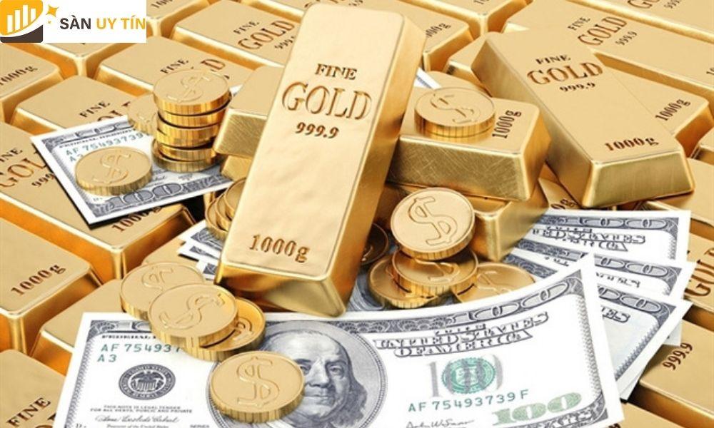 Vàng tài khoản bao gồm hai loại trên thị trường