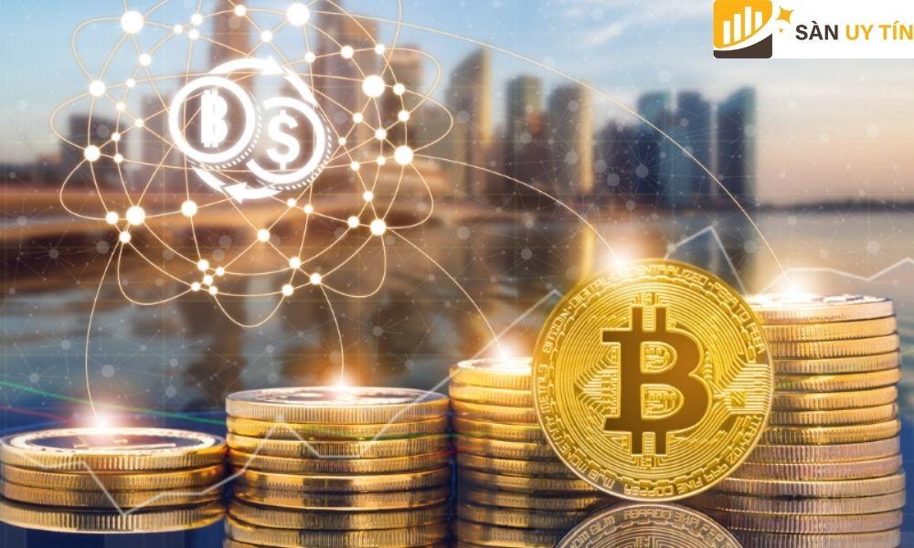 Bitcoin là một trong những đồng tiền ảo chiếm gần 2/3 toàn bộ thị trường tiền điện tử