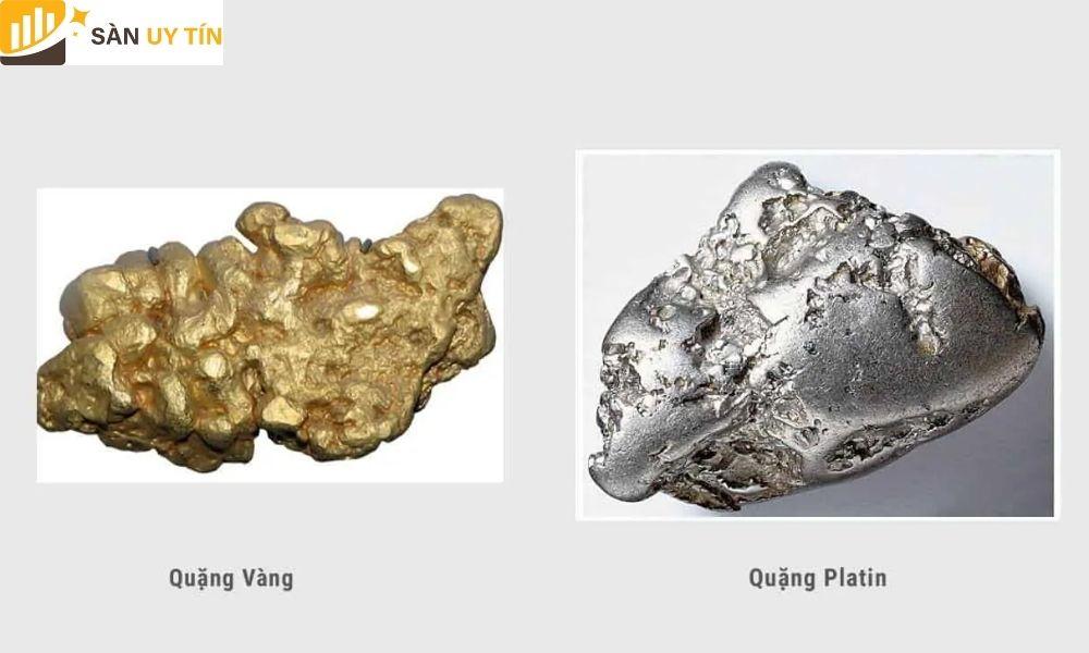 Giá vàng trắng và bạch kim sẽ mang những giá trị khác nhau