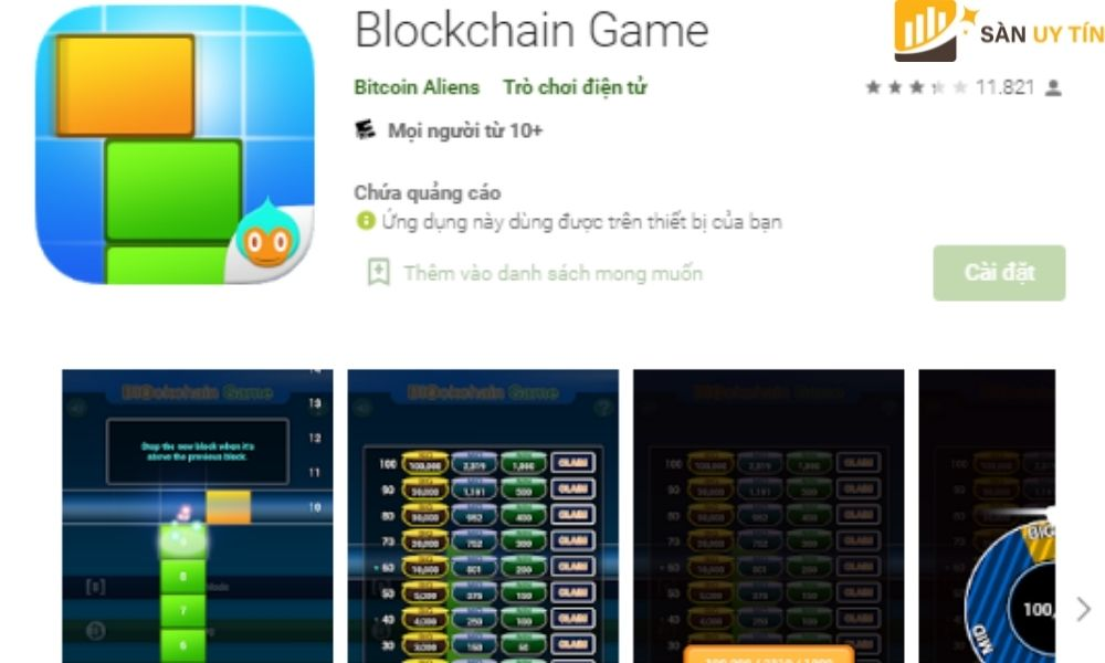 BlockChain cũng tương tự như Game xếp hình