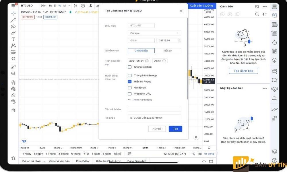 Hướng dẫn sử dụng Tradingview giúp cho việc khám phá các tính năng của Tradingview được dễ dàng hơn.
