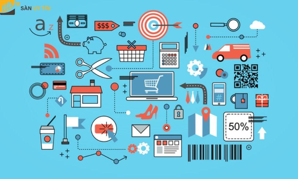 Ngành thương mại điện tử hiện đang chiếm lĩnh nền kinh tế trên toàn thế giới