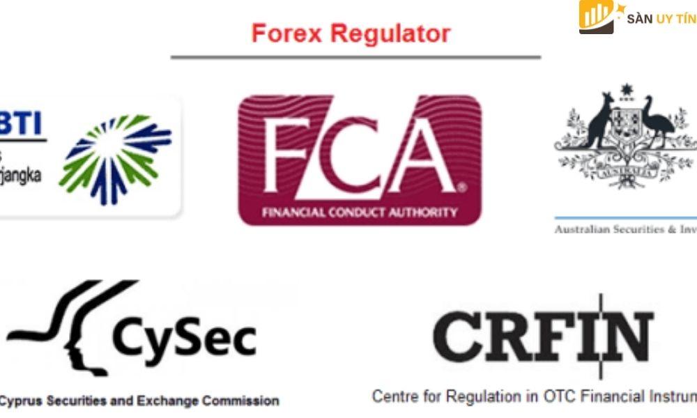 Các giấy phép sàn Forex