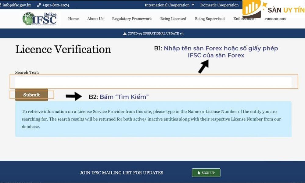 Một trong các loại giấy phép Forex uy tín trên thị trường tài chính