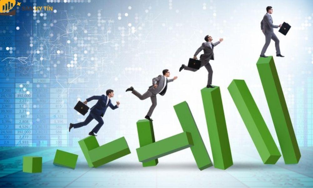 Công ty tạo nên được sự uy tín mạnh trên thương trường.