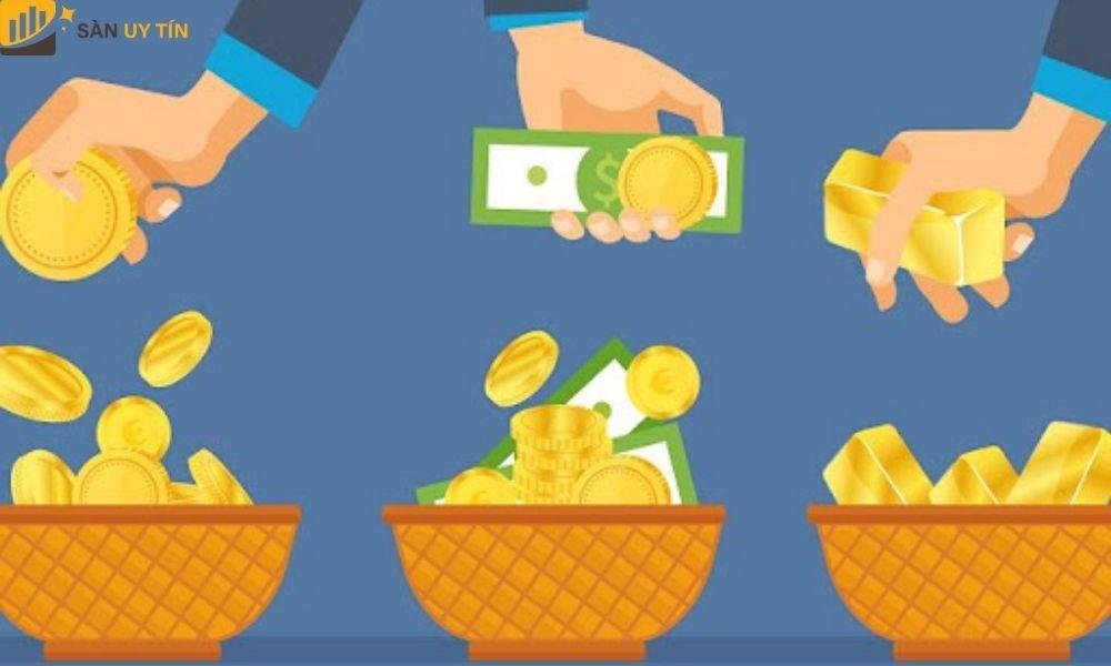 Trader nên chia các khoản tiền đầu tư ra thành nhiều loại để hợp lý hóa các mục đầu tư