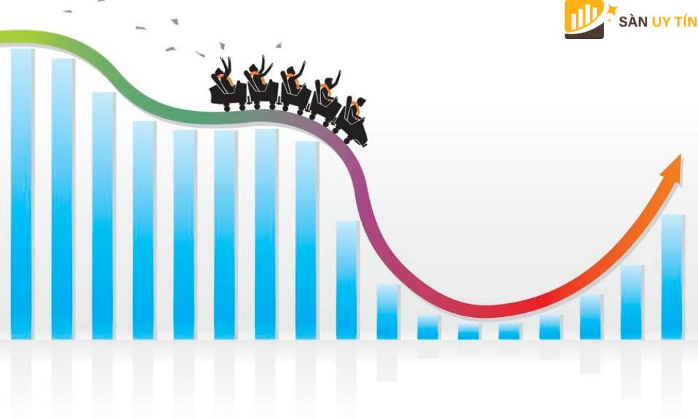 Volatility càng cao thì giá trị của chứng khoán có thể trải ra trên một phạm vi giá trị rộng hơn.